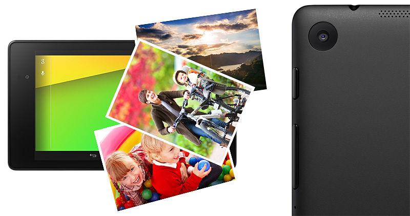 Asus Nexus 7 7 pulgadas Cámaras