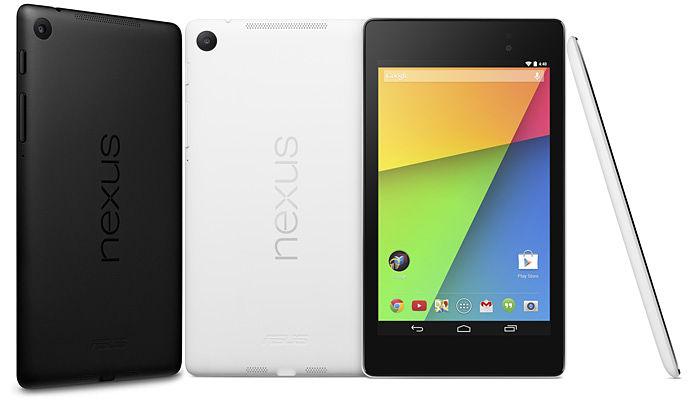 Asus Nexus 7 7 pulgadas Diseño