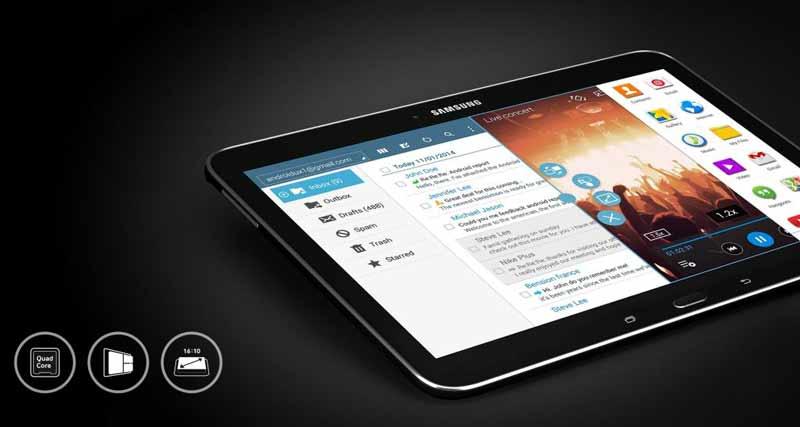 Comprar una tablet Samsung Galaxy Tab 4 10.1 dimensiones
