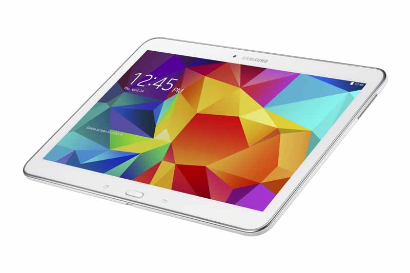 Comprar una tablet Samsung Galaxy Tab 4 10.1 parte adelante